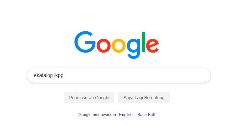 halaman mesin pencari